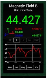 Detecting magnetic fields and radio frequency radiation is now possible using an app that offers EMF detector functionality. Many of these apps are FREE.