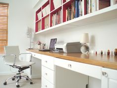 Check out our favorite small-space home offices at HGTV.com.