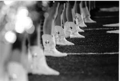 Drill team boots...so many good memories :)