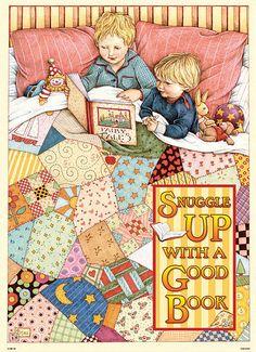 books.quenalbertini: Bedtime reading | Mary Engelbreit                                                                                                                                                                                 More