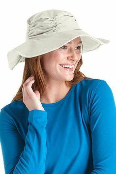 960baeb0c41 Ruche Cotton Hat  Sun Protective Clothing - Coolibar
