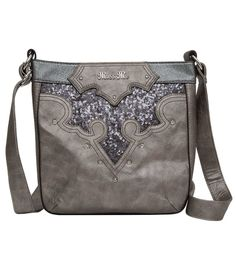 Make a purse with this design but with Pendleton wool in the sparkly space and a dark brown leather.