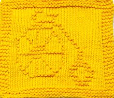 Knitting Cloth Pattern  BICYCLE  PDF by ezcareknits on Etsy, $2.85