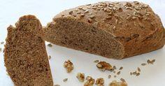 ¿Buscas una receta de pan saludable? ¡La has encontrado!