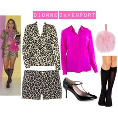 dionne davenport 2nd outfit