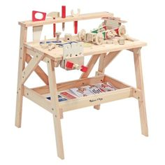 Work bench: Easy DIY for the kids!