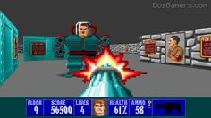 Play Wolfenstein 3D in high resolution on your Windows 7 and 8 computer