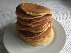 Tortitas americanas (Thermomix) Pancakes, Breakfast, Desserts, Recipes, Food, Pancake, Torte Recipe, Healthy Recipes, Cooking Recipes