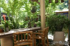 All sizes | Bamboo Bar Chairs and Bar | Flickr - Photo Sharing!