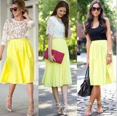 #yellowskirt
