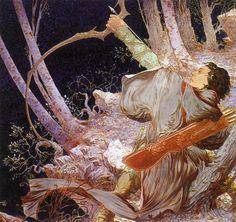 Fantasy Lord of the Rings by Michael Kaluta | #Fantasy #LOTR #JRRTolkien