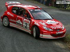 San Remo 2003 - Burns Richard - Reid RoberticonPeugeot 206 WRC