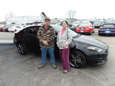 Congratulations to Gary and Marlene on their purchase of a new Dodge Dart! We appreciate the opportunity to earn your business, and hope you enjoy your new car!