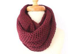 Burgundy Lace scarf Summer Scarf Wine scarf por FabricFoxClub