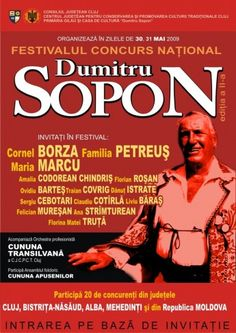 Poster for a folk festival in the memory of the singer Dumitru Sopon Folk Festival, Poster Designs, Singer, Memories, Album, Reading, Movie Posters, Memoirs, Souvenirs