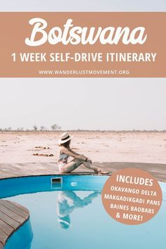 Botswana is one of the top safari destinations in Africa. But did you know the best way to explore the country is with a road trip? Heres a one-week Botswana itinerary that will take you to high Okavango Delta, Africa Destinations, Travel Destinations, Holiday Destinations, Uganda, Cool Places To Visit, Places To Travel, Travel Photographie, Chobe National Park