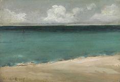 Theodor Casimir Roussel, 1847-1926. The Sea at Bognor, ca. 1899.