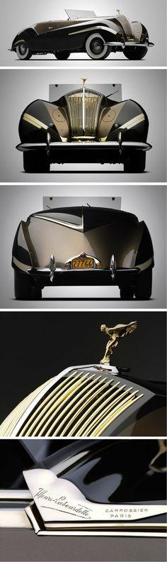 1939 Rolls-Royce Phantom 111 Cabriolet.
