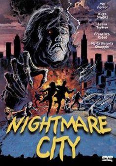 Nightmare City (1980) - Les premiers zombies qui courent
