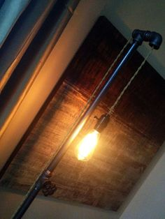 Love all these Industrial PIPE lighting!