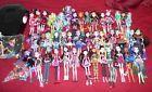 HUGE Mattel MONSTER HIGH LOT  42 Dolls Accessories Stands  More