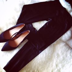 Pants and Heels are Best Friends Forever and Black is the answer