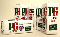 PG Tips soft sculpture by Nicola Gibson