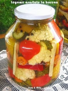 Romanian Food, Romanian Recipes, Projects To Try, Food And Drink, Yummy Food, Canning, Chicken, Home Canning, Homemade