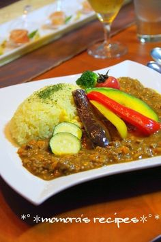 夏野菜 キーマカレー