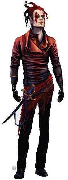 Har'lea'quinn (Harlequin) – Shadowrun