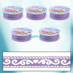 Sweet DIY Hollow Lace Stationery Album Art Tape Stickers Adhesive Decorative