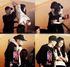 Justin Bieber & Selena Gomez - 11th and Bleeker