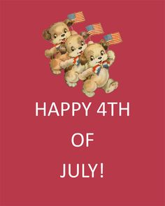 Vintage 4th Of July   4th of July Free Vintage Printable Party Collection by Glamorous Sweet ...