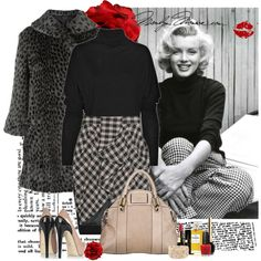 """Some Like It Hot"" Marilyn Monroe style Marilyn Monroe Outfits, Marylin Monroe, Boho Fashion, Autumn Fashion, Vintage Fashion, Coco Chanel Fashion, Mein Style, Norma Jeane, Mode Vintage"