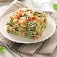 Barilla Lasagne med musslor, marulk och räkor. Detta recept är lyxigt och välsmakande. Unna dig själv en krämig lasagne till middag, här är receptet!