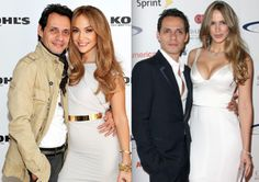 MARC,  JLO AND SHANNON Marc Anthony And Jlo, Hollywood Actresses, White Jeans, Singer, Formal Dresses, American, Fashion, Dresses For Formal, Moda