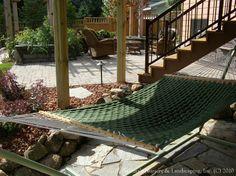 Landscape under your deck...!