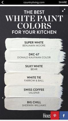 Super White for Trim
