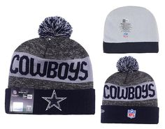 Men's / Women's Dallas Cowboys New Era 2016 Sideline Official Sport Knit Pom Pom…