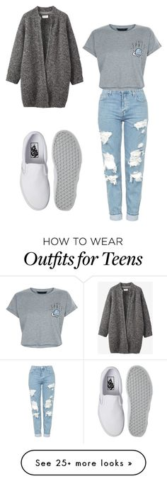 """Place your welcome"" by lilysantamaria80 on Polyvore featuring Toast, Topshop, New Look and Vans"