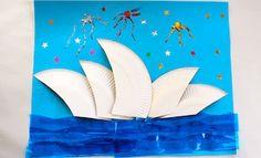 Kids Crafts | The Sydney Opera House | Australia Day