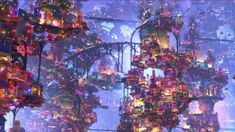 Wander into the glowing neon Land of the Dead in new clip from Pixar's Coco