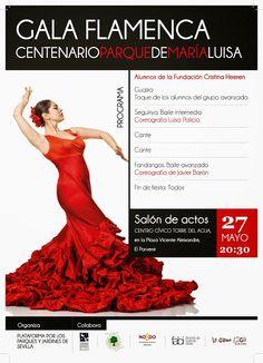 Plataforma Ciudadana Parques y Jardines Sevilla: Gala Flamenca - Centenario Parque de María Luisa