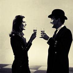 Emma and John Steed