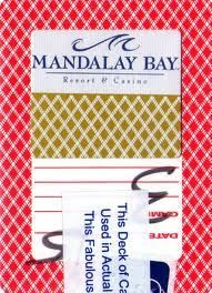 Cartas originales del Mandalay Bay Casino Las Vegas - PokerProductos.com Mandalay, Las Vegas, Letters, Index Cards, Store, Last Vegas