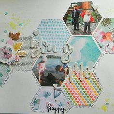 You and me scrapbook page made with Silhouette Cameo My Scrapbook, Scrapbooking, Silhouette Cameo, You And I, Decorative Boxes, Portrait Ideas, Blog, Tutorials, You And Me