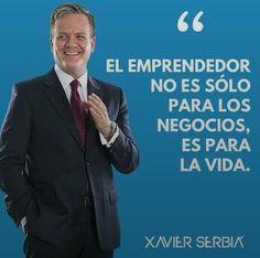 Emprendedores.... Xavier Serbia