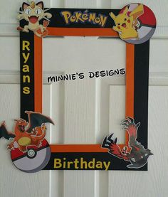 Cumpleaños de Pokémon Pokémon Fotomatón invita a Pokémon