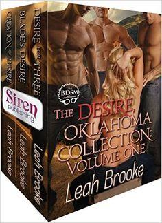 Românticos e Eróticos  Book: Leah Brooke - Desire, Oklahoma #1 a #9.5