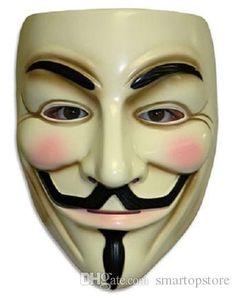 v значит вендетта маски anonymous гая фокса костюмированный взрослый костюм аксессуар в категории